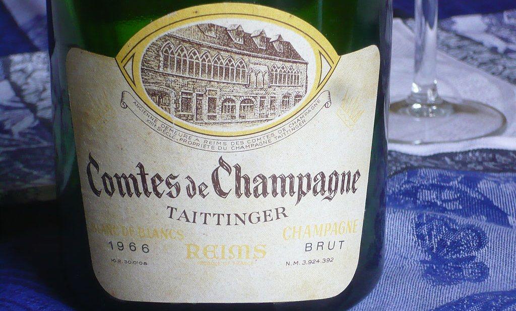 Champagnebaas vervalst de geschiedenis