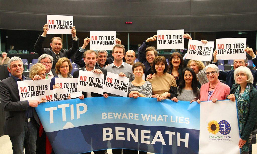 'Gelekt document toont twijfel Duitse regering aan TTIP'