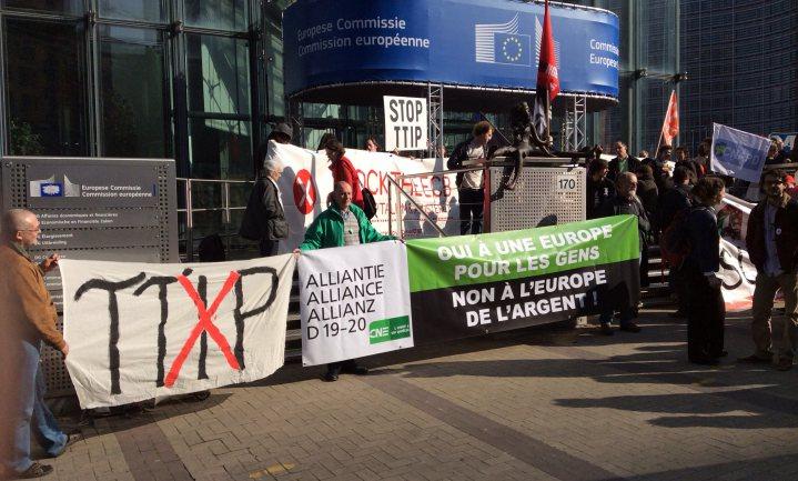 TTIP laat PvdA zwalken
