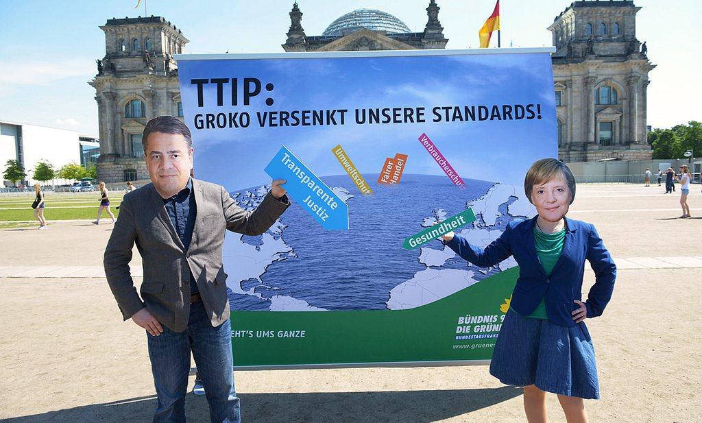 'TTIP-concepten alleen nog in beveiligde ruimte te lezen. Waarom?'
