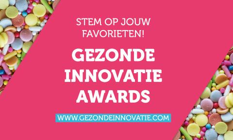Gezonde Innovatie Awards: stem op jouw favorieten