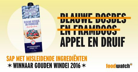 'Gouden Windei 2016': Healthy People Blauwe bosbes en framboos