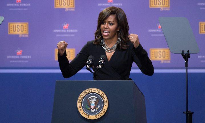 De Obama's zorgden voor 'Little Food'