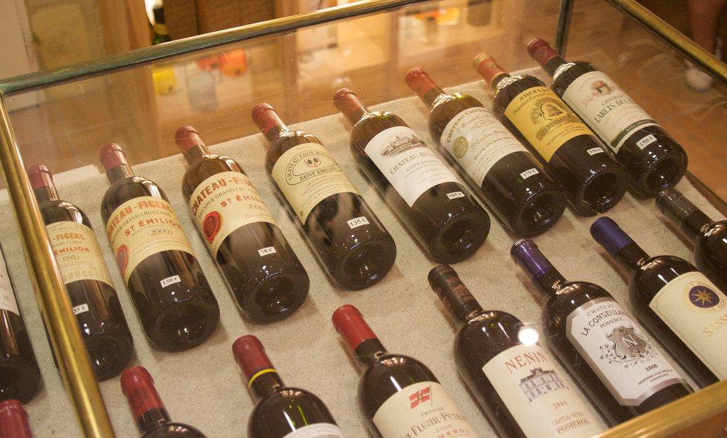 Wijnboeren tegen Kcal op etiket