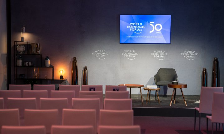 Wereldleiders bediscussiëren klimaatproblematiek in Davos