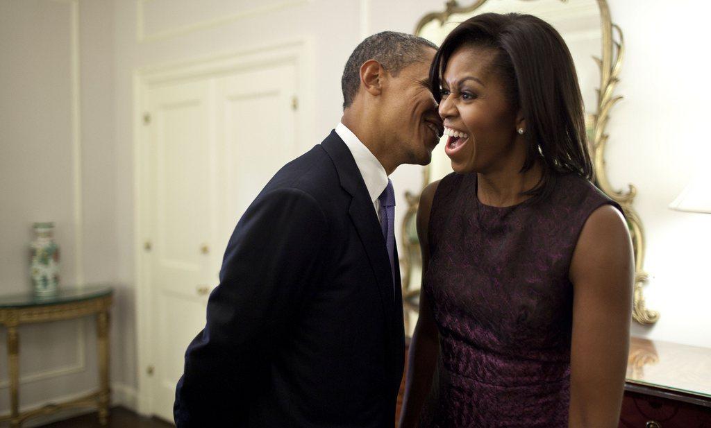 Michelle Obama danst de VS gezonder