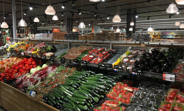 Groente en fruit goedkoopst bij Lidl en duurst bij Spar