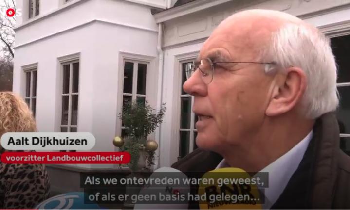 Farmers Defence Force zingt toontje lager, Dijkhuizen lijkt nu echt de rol van boerenleider te nemen