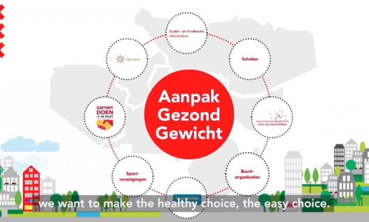 BBC bewondert succesvolle Amsterdamse 'Aanpak Gezond Gewicht'