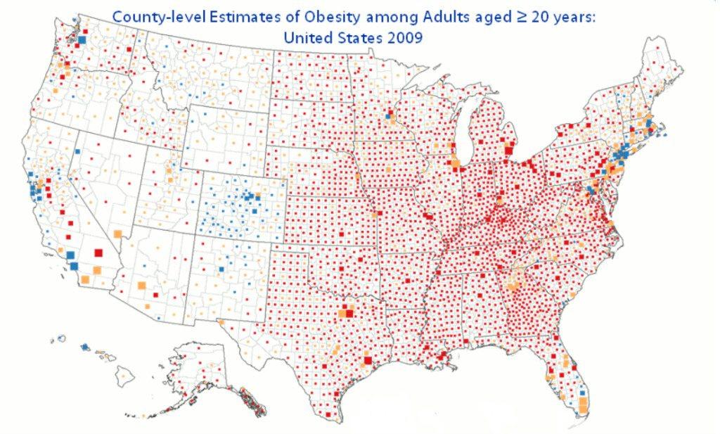 Obesitas aanpakken kan alleen met een doortastend 'Deltaplan'