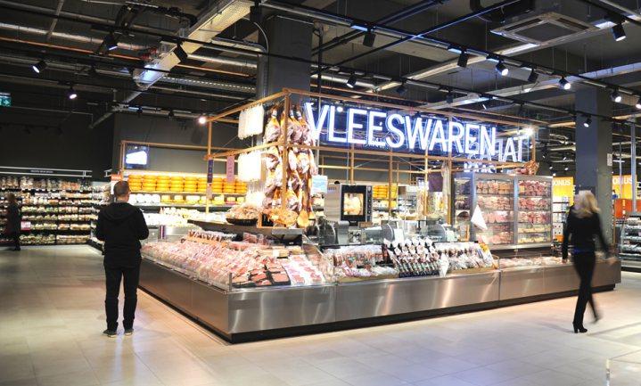 Albert Heijn verkoopt vleeswaren lokale slagers