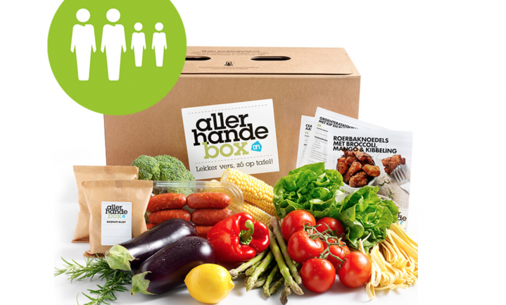 AH introduceert 'kidsproof' Allerhande Box