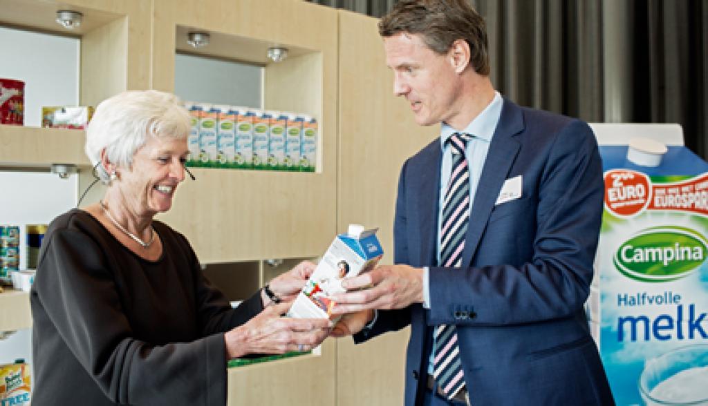 FrieslandCampina introduceert biobased melkpak