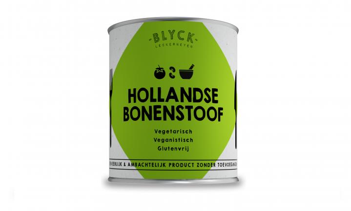 Bonenstoof van BLYCK: vegan kant-en-klaar maaltijd uit blik