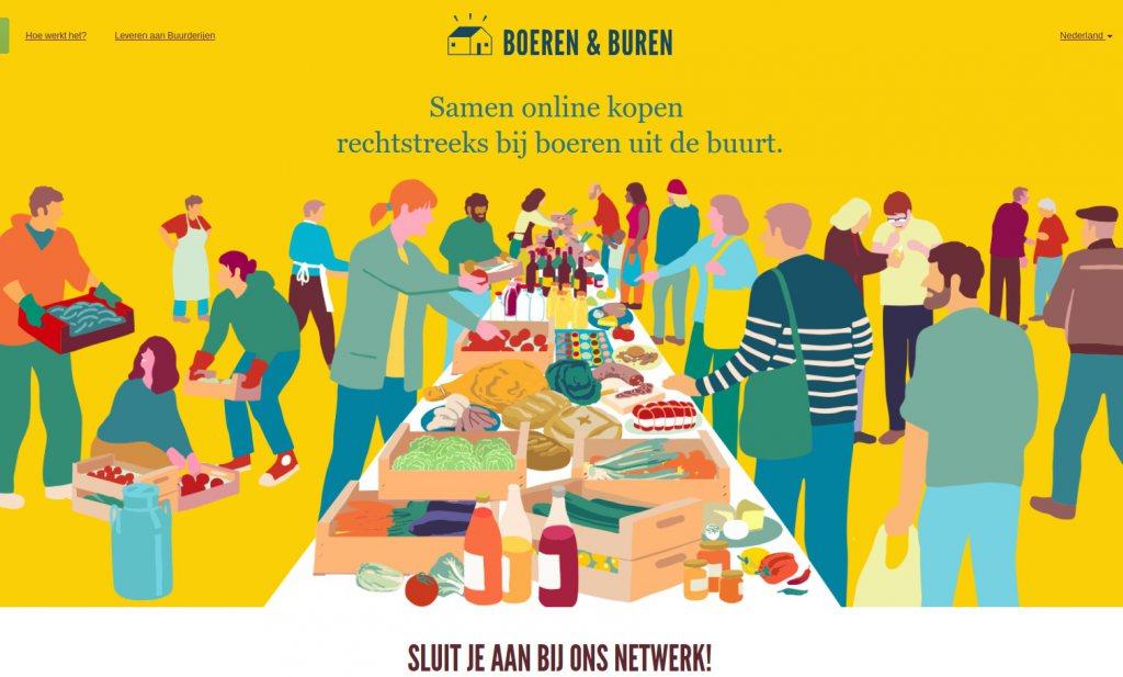 Boeren & Buren komt naar Nederland