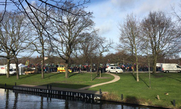 'Rustig en gemoedelijk' #boerenprotest