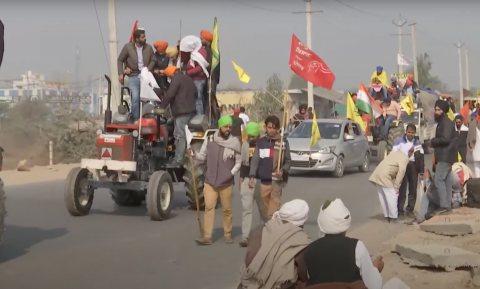 Indiase boeren protesteren tegen vrije markt die premier Modi wil