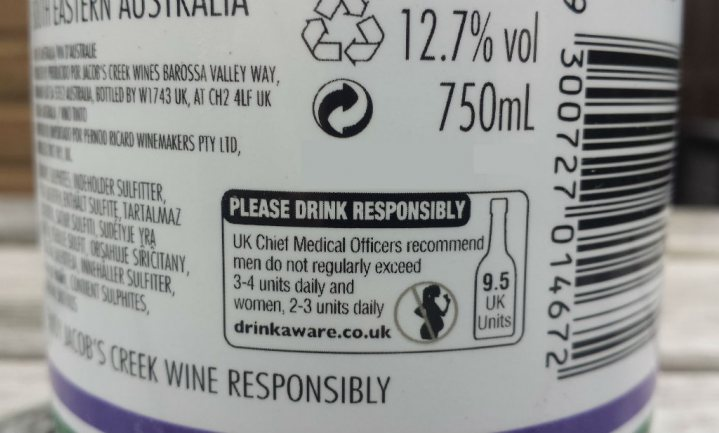 Britse drankindustrie weigert te vermelden dat alcohol per definitie slecht is