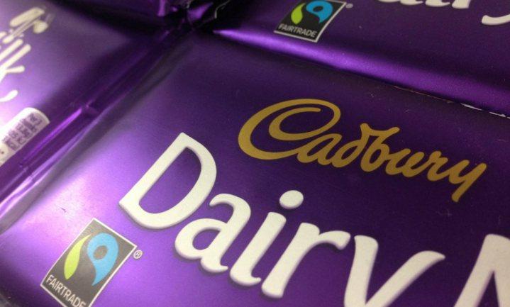 Gezondheidsbewuste Dairy Milk-fans krijgen chocoladereep met 30% minder suiker