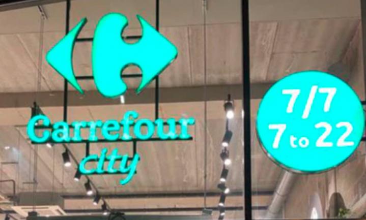 Ook Carrefour gaat op de stadse toer met Carrefour City