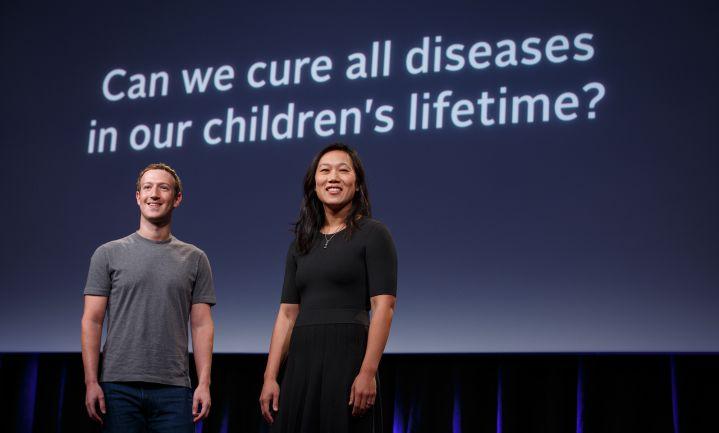 Chan Zuckerberg Initiative gaat 'alle ziekten' bestrijden
