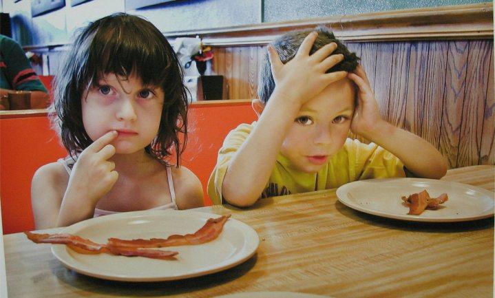 Helft Britse kinderen eet niet samen met ouders