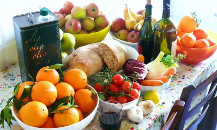Mediterraan dieet drievoudig bedreigd