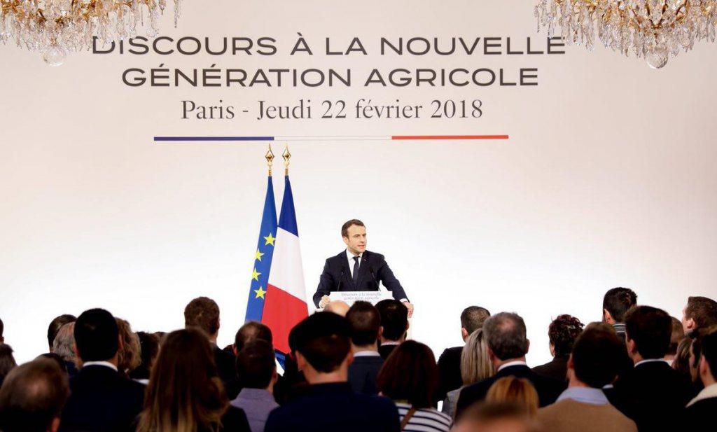 Macron zegt z'n boeren de waarheid