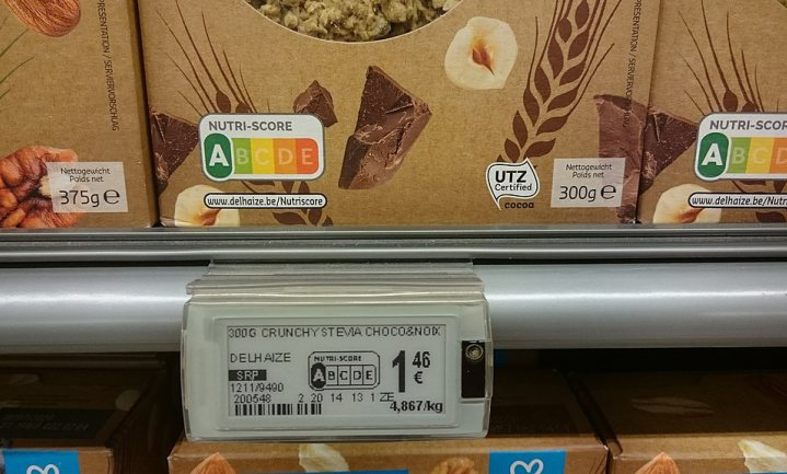 Supermarkten negeren trage overheid en zetten Nutri-Score op huismerkproducten