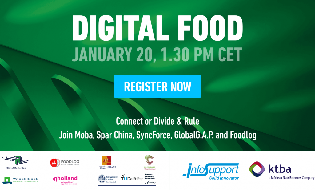 Digital Food - A Glimpse of the Challenges Ahead