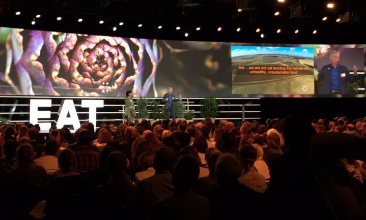 Er was maar één boer in Zweeds eet-Davos