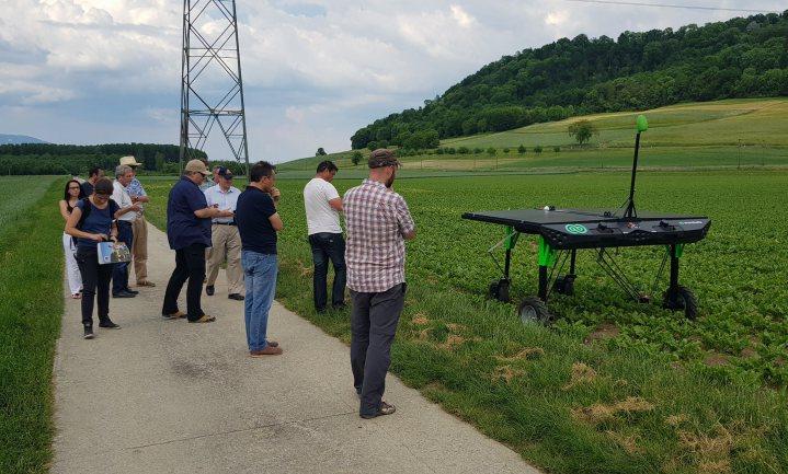 Volautomatische schoffelrobots doen het met of zonder landbouwgif