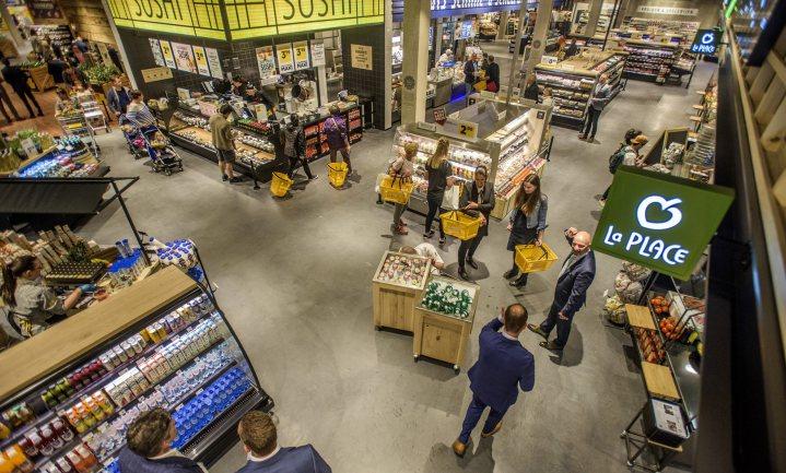 Supermarkten draaien top-omzet door corona