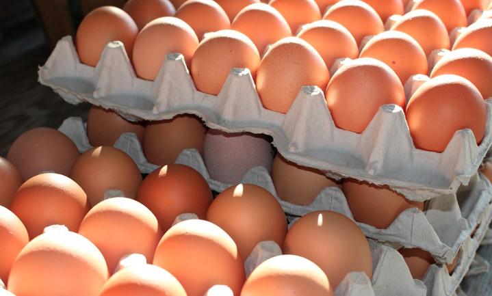 Eieren uit Oekraïne veroveren de EU, import vertwintigvoudigd