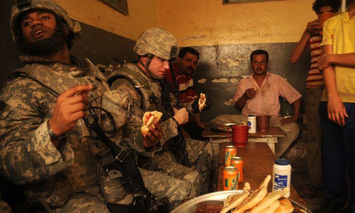 Amerikaanse militairen steeds dikker
