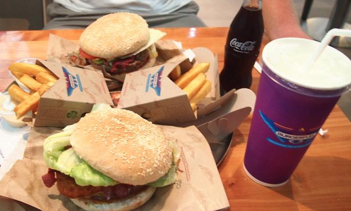 Fast food-porties in 30 jaar sterk gegroeid