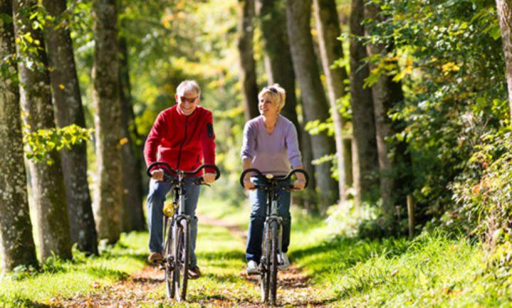 Fietsen helpt ouderen diabetes type 2 voorkomen