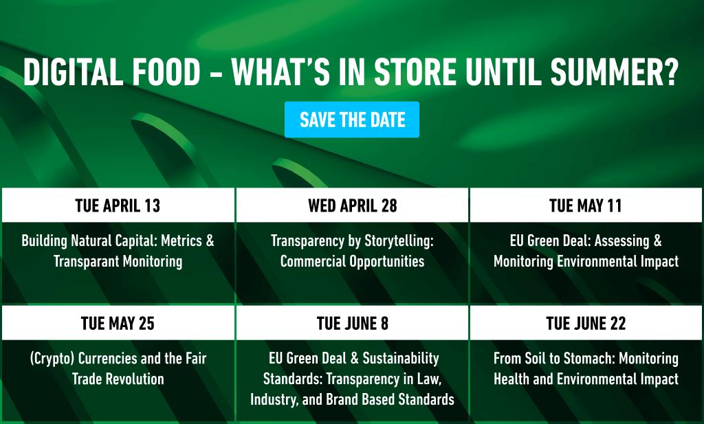 Digital Food - What's in Store until Summer?