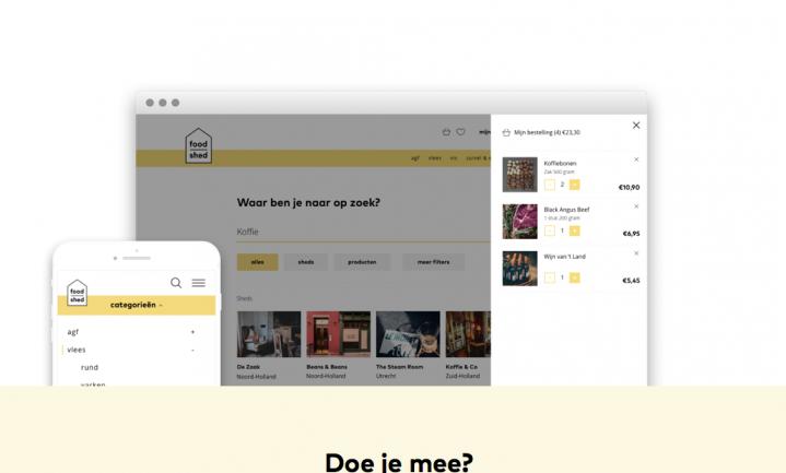 Nieuw platform Foodshed is online marktplaats voor bijzonder eten en drinken