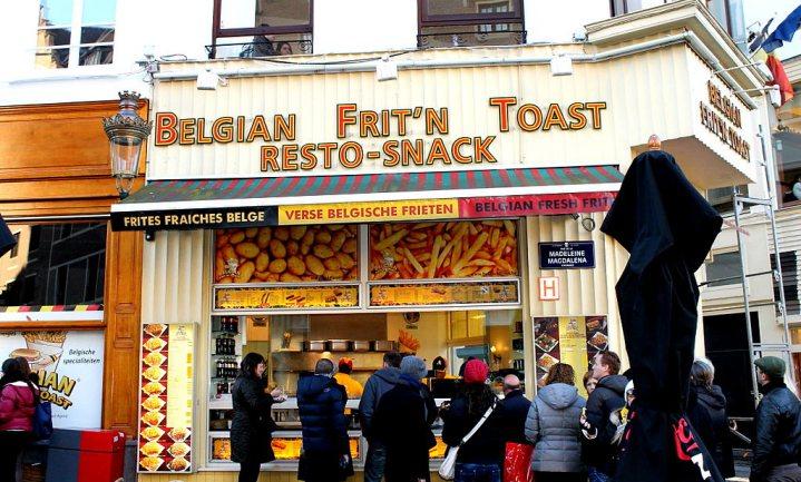 Belgische friettraditie blijft blancheren nog even bespaard