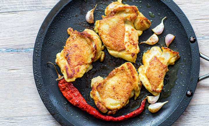 Halfgare kip komt heel vaak voor