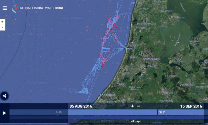 Google, Oceana en Sky Truth helpen overheden tegen illegale visserij