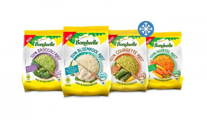 Groenterijst van Bonduelle: meer groente & minder koolhydraten
