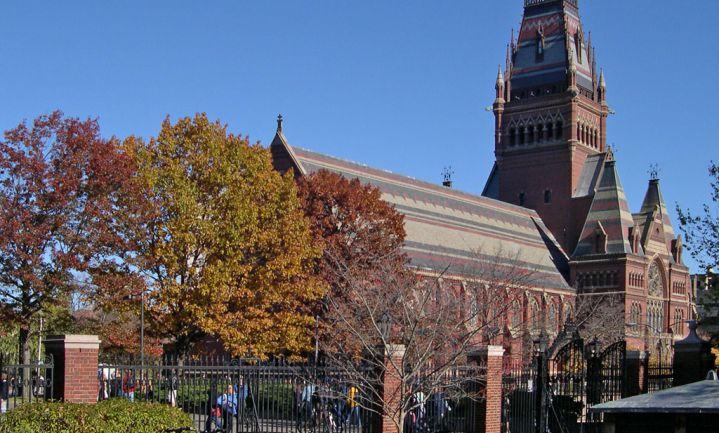 Harvard studenten hamsteren voedsel