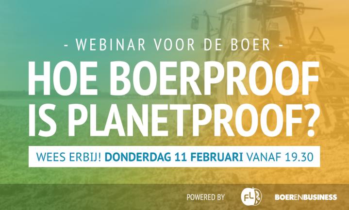 Hoe Boerproof is PlanetProof?