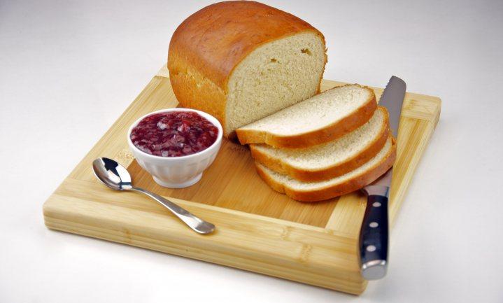 Witbrood met vezels