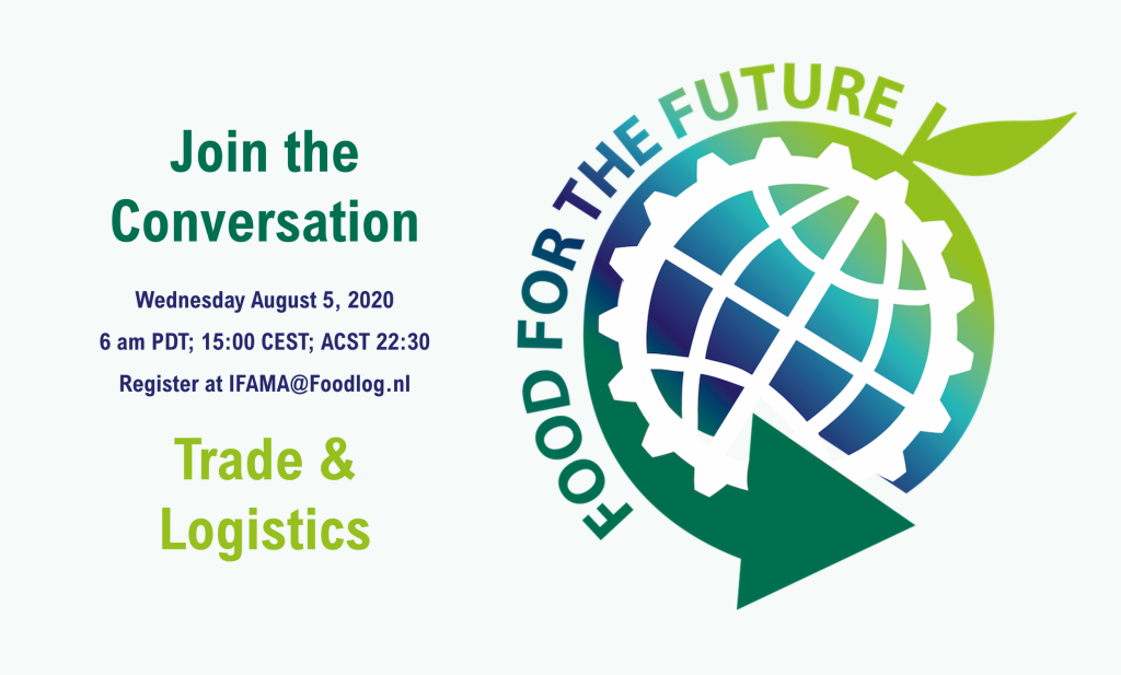 The Future of Global Trade & Logistics - Join the Conversation, Wednesday August 5