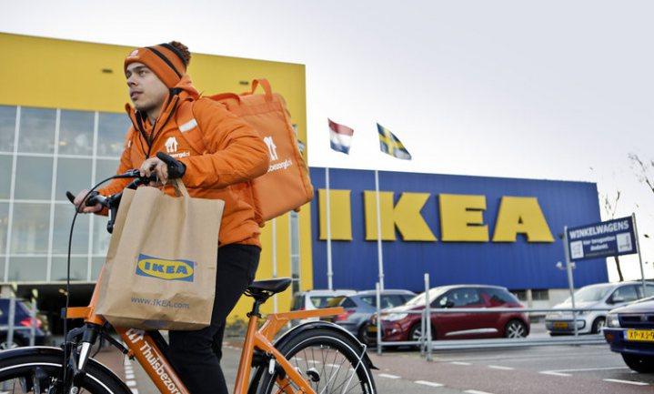 Groningen heeft primeur: thuisbezorgde Zweedse Ikea-balletjes