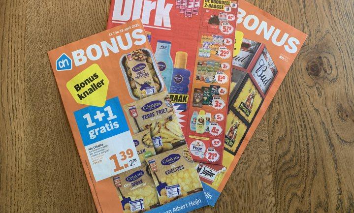 Aanbiedingen supermarkt voor 71% ongezond, bij Aldi en Lidl nog wat meer