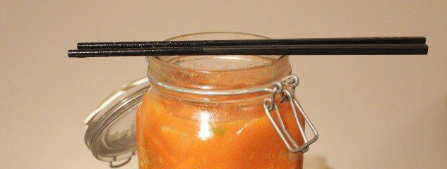 Vegetarisch stoofpotje met kimchi
